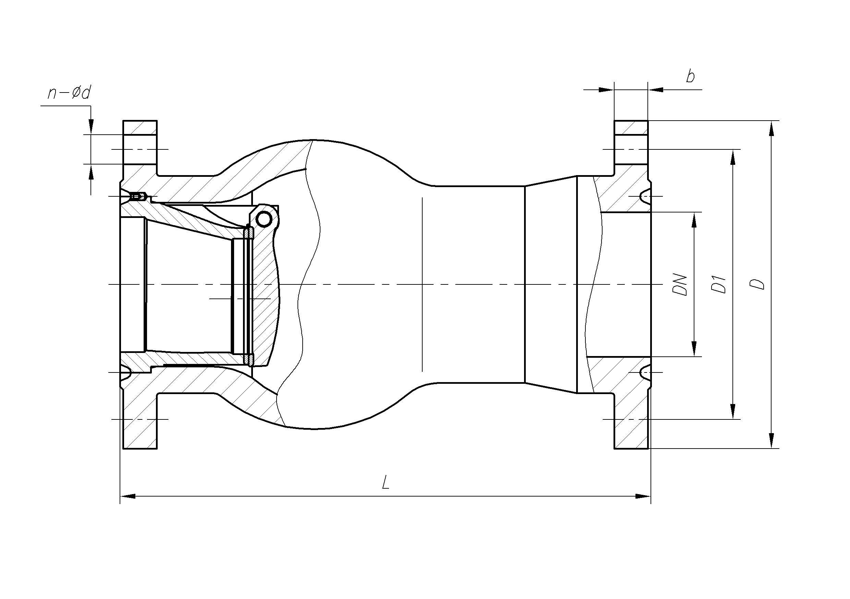 Клапан обратный МЗ 44006